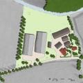 Landschappelijke inpassing nieuwe varkensstallen, Gelderse Vallei